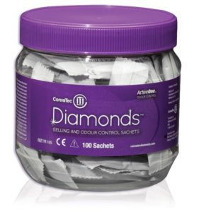 Convatec Diamonds 420791   Diamonds Gelling and Odor Control Sachets   4 Ways to Avoid Sharing the Odors from Your Ostomy Bag