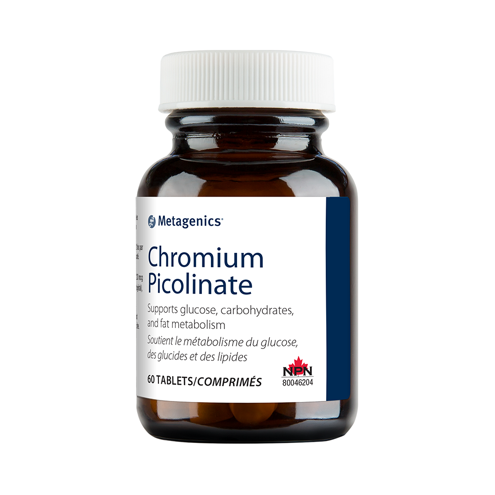 Metagenics Chromium Picolinate 60 Tablets Canada