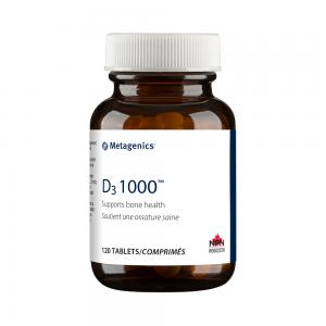 Metagenics D3 1000 120 Tablets Canada