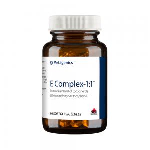 Metagenics E Complex-1:1 60 Softgels Canada