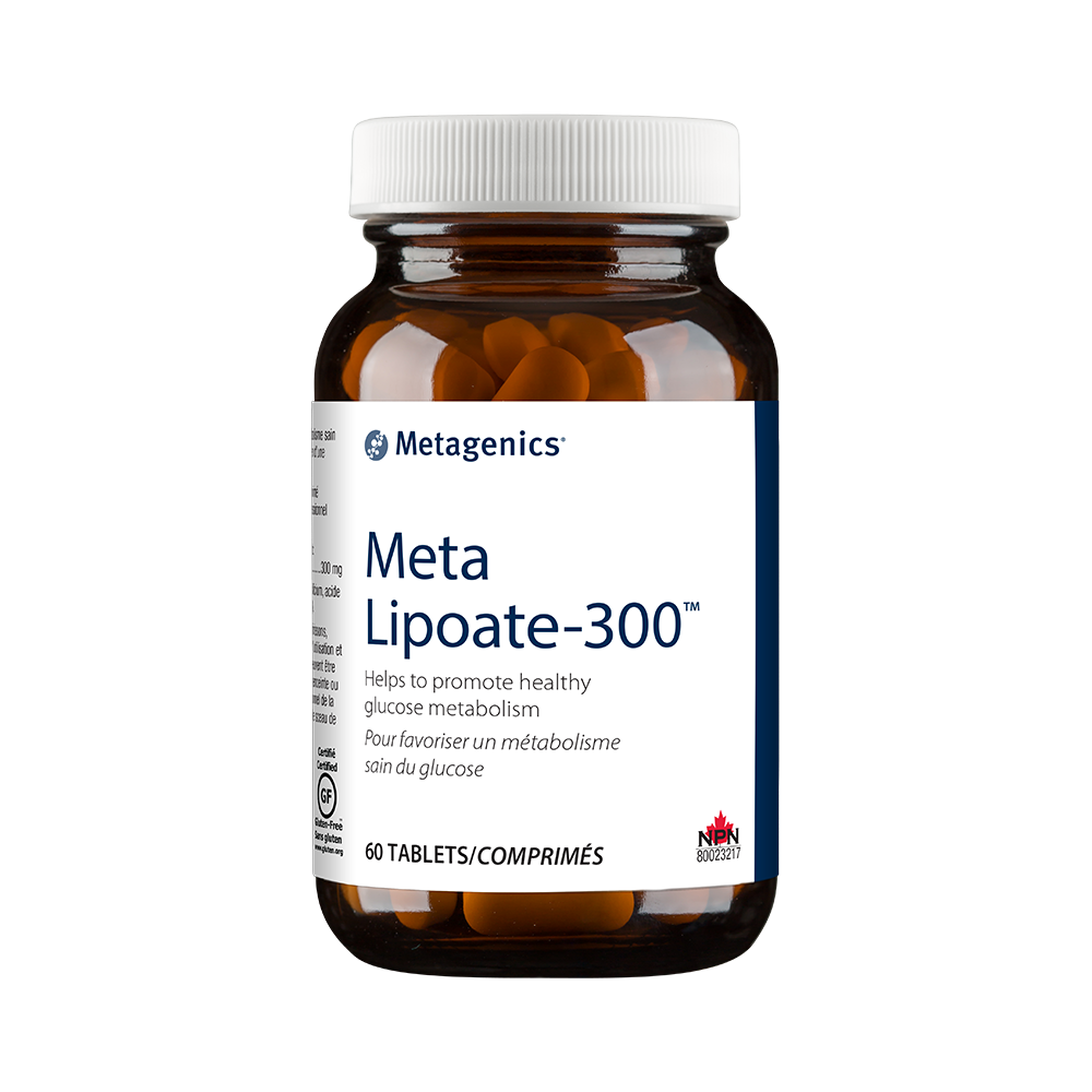 Metagenics Meta Lipoate - 300 60 Tablets Canada