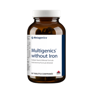 Metagenics Multigenics without Iron 90 Tablets Canada
