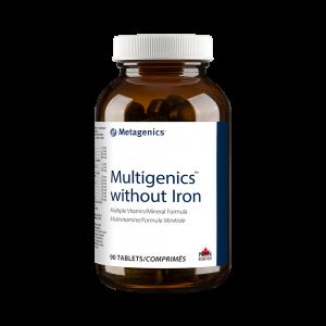 Metagenics Multigenics without Iron 90 Tablets Canada