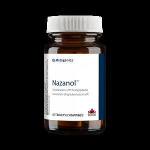 Metagenics Nazanol 30 Tablets Canada