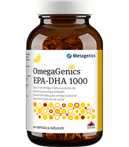 Metagenics omegagenics epa dha 1000 60 softgels