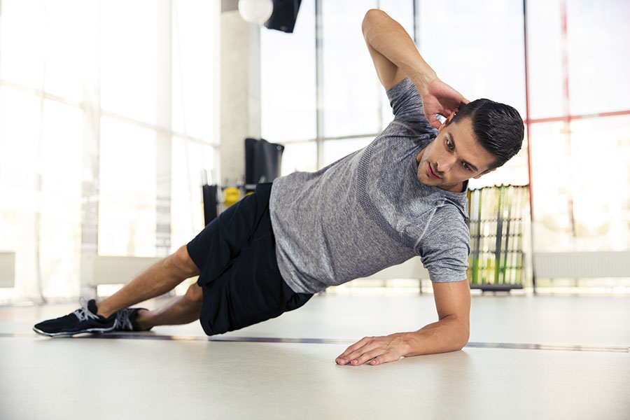 #OSTOFIT - Ostomy Fitness Tips - Side Plank to rebuild your core.