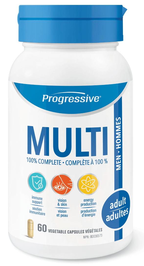 Progressive 3100 Multi for Adult Men 60 Capsules Canada