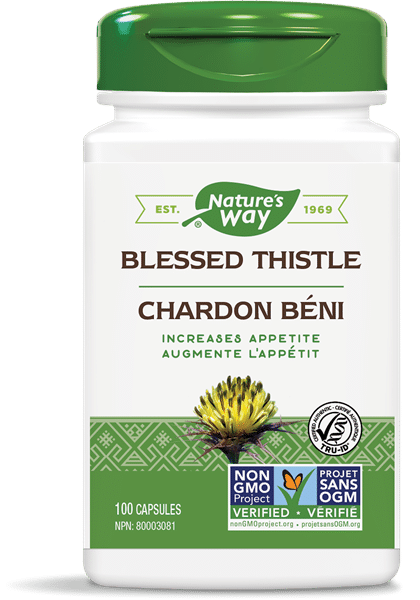 Nature's Way 10404 Blessed Thistle 100 Capsules Canada