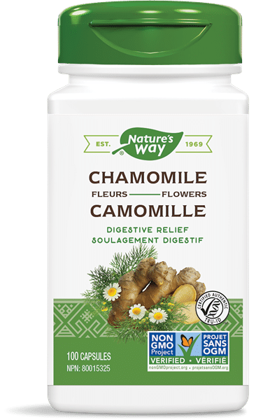Nature's Way 10409 Chamomile Flowers 100 Capsules Canada