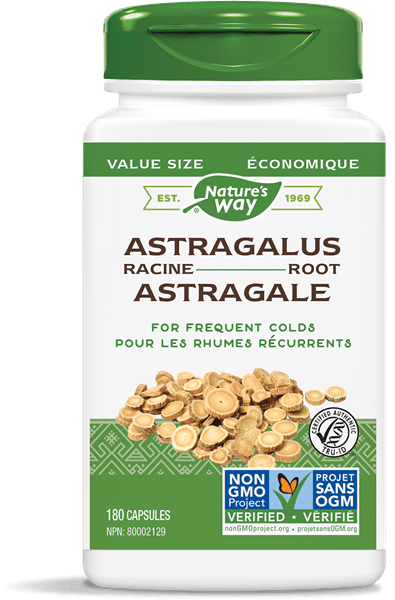 Nature's Way 30526 Astragalus Root 180 Capsules Canada