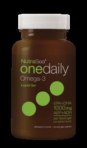 NutraSea® Omega-3 One Daily Liquid Gels, Fresh Mint | 30 Softgels