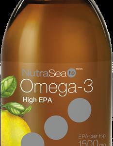 NutraSea® HP™ Omega-3, Lemon | 200 ml liquid