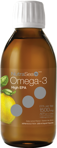 NutraSea® HP™ Omega-3, Lemon | 200 ml liquid