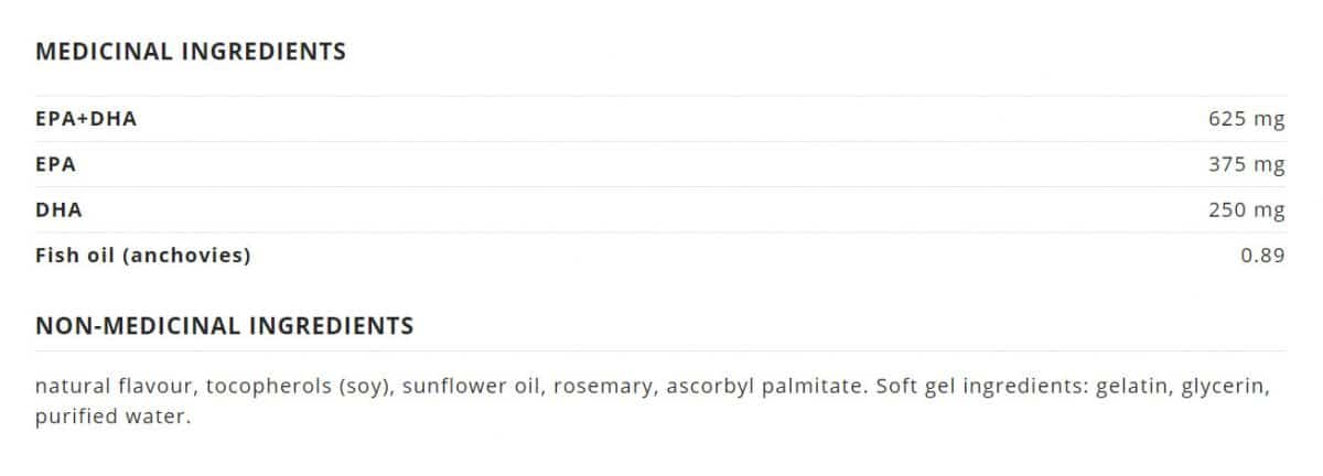 NutraSea+D™ Omega-3 Liquid Gels, Fresh Mint Canada Ingredients