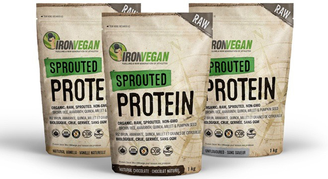 Protein Supplements for Ostomy - Sprouted Protein - Iron Vegan