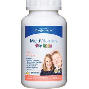 progressive multivitamins for kids 120 chewable tablets | Ostomy Supplements for Children - Top Picks for Your Finicky Kid