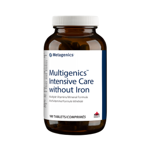 Metagenics Multigenics Intensive Care without Iron 180 Tablets Canada
