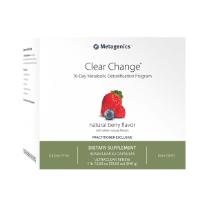 Metagenics Clear Change 10 Day Berry Flavour Canada