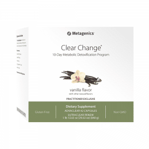 Metagenics Clear Change 10 Day Program-Vanilla Flavour Canada