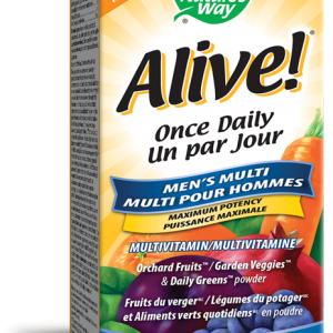 Nature's Way 31555 Alive Men's Once Daily 60 Tablets Canada