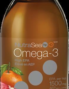 NutraSea® HP™+ D Omega-3, Grapefruit Tangerine | 200 ml liquid