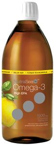 NutraSea® HP™ Omega-3, Lemon   500 ml liquid