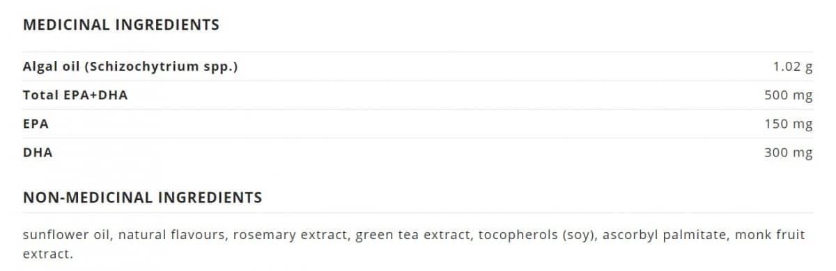 NutraVege™ Omega-3, Plant Based, Strawberry Orange Canada Ingredients