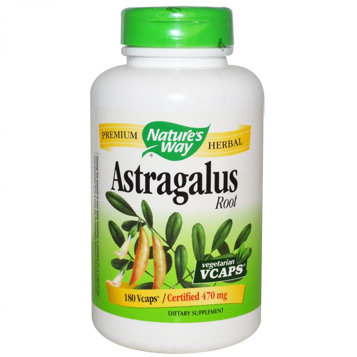 Nature's Way | Astragalus Root / 180 Vcaps® -30526