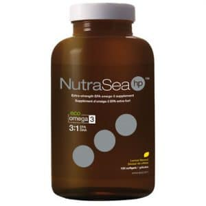 Ascenta | NutraSea hp | Omega -3 (Lemon) 120 softgels -11089
