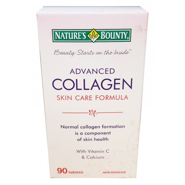 Nature's Bounty Advanced Collagen Skin Care Formula 90 Tablets
