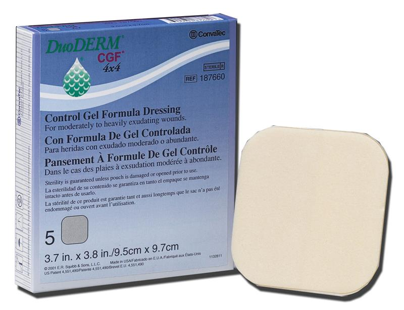 Convatec 187660 - DuoDerm CGF Dressing Sterile