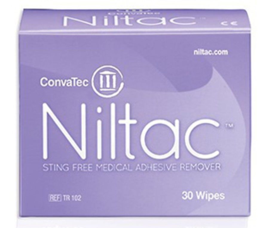 ConvaTec Niltac 420788 Adhesive Remover Wipes