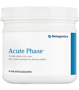 Metagenics Canada - Acute Phase