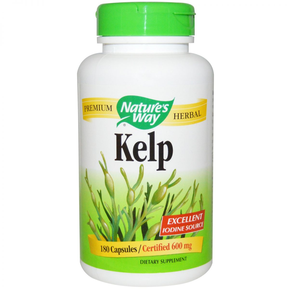 Nature's Way | Kelp / 180 Vcaps® -30664 | Inner Good