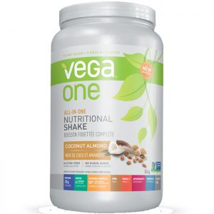 Vega One All-in-One Nutritional Shake Coconut/Almond 834g Powder