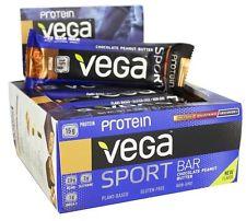 Vega Sport Protein Bar Chocolate Peanut Butter (12 x 60g bars)