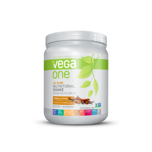 Vega One All-in-One Nutritional Shake Vanilla Chai 437g Powder