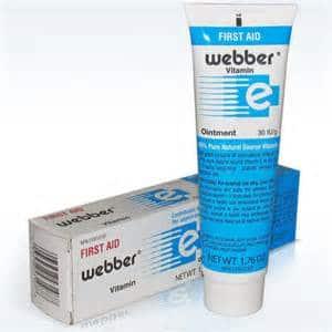 Webber Vitamin E First Aid Ointment 30g Canada