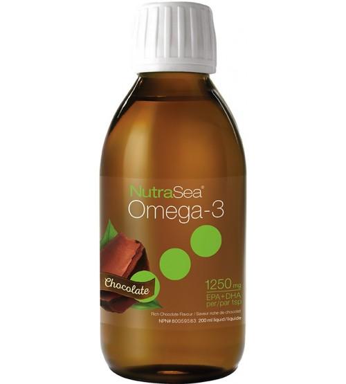 NutraSea | Liquid Omega-3 (chocolate 200ml) -11198