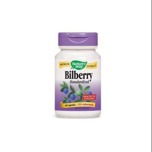 Nature's Way | Bilberry 60 Vcaps® -10167