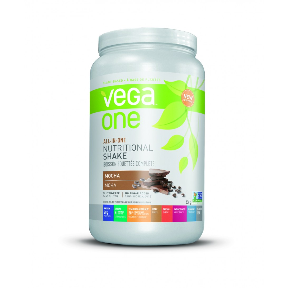 Vega One All-in-One Nutritional Shake Mocha 834g Powder