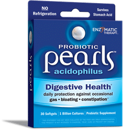 Enzymatic Therapy| Probiotic Pearls Acidphilus (30 Softgels) -31540