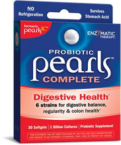 Enzymatic Therapy| Probiotic Pearls Complete (30 Softgels) -31543