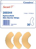 Genairex 200344 - Securi-T Hydrocolloid Skin Barrier Strips