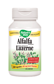 Nature's Way | Alfalfa Leaves (COG)/ 100 Vcaps® -10379