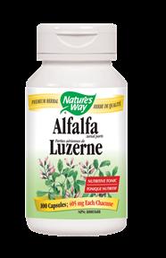 Nature's Way | Alfalfa Leaves (COG)/ 100 Vcaps® -10379