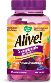 Nature's Way | Alive! Calcium Gummy (60 gummies) -10558