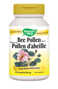 Nature's Way | Bee Pollen 100 Vcaps® -10452