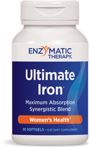 Enzymatic Therapy| Ultimate Iron Complex (90 Softgels) -10643