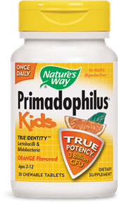 Nature's Way | Primadophilus KIDS Orange (30 Chewable Tabs) -31305